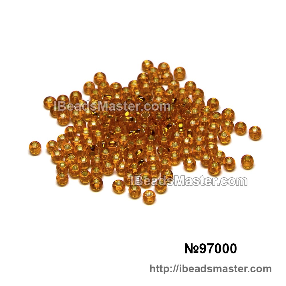 Бисер 97000 ( 307) PRECIOSA (Чехия) 5 гр. фасовка Чарвна